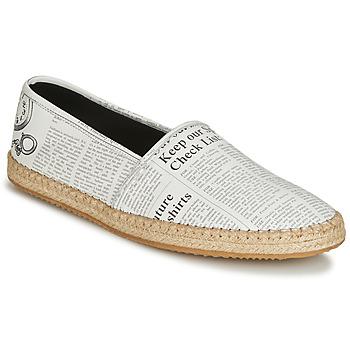 鞋子 男士 帆布便鞋 John Galliano 6715 白色