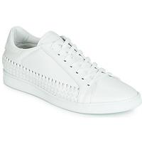鞋子 男士 球鞋基本款 John Galliano 6712 白色
