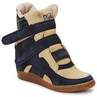 鞋子 女士 高帮鞋 Buffalo GINGERWA 海蓝色 / 米色