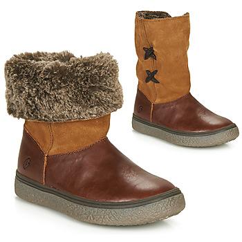 鞋子 女孩 短筒靴 GBB OLINETTE 棕色