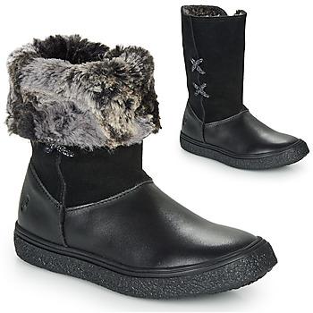 鞋子 女孩 短筒靴 GBB OLINETTE 黑色