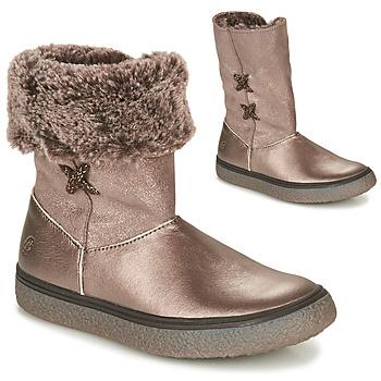 鞋子 女孩 短筒靴 GBB OLINETTE 金色