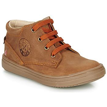 鞋子 男孩 高幫鞋 GBB NINO 棕色