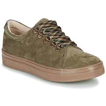 鞋子 女孩 球鞋基本款 GBB OMAZETTE 綠色