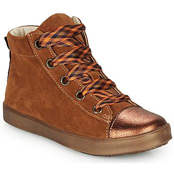 鞋子 女孩 高帮鞋 GBB OUSTILLE 棕色