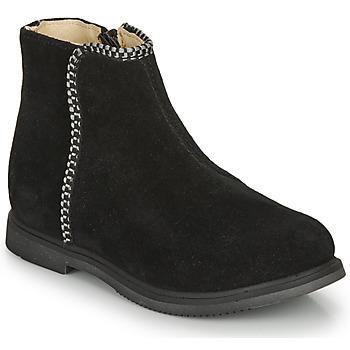 鞋子 女孩 短筒靴 GBB OJIMA 黑色