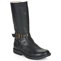 鞋子 女孩 都市靴 GBB OKINDI 黑色