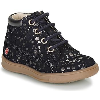 鞋子 女孩 短筒靴 GBB NINON 海蓝色 / 银灰色