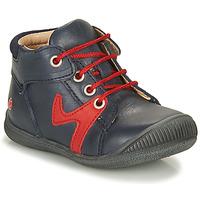 鞋子 男孩 短筒靴 GBB OVELO 海蓝色 / 红色