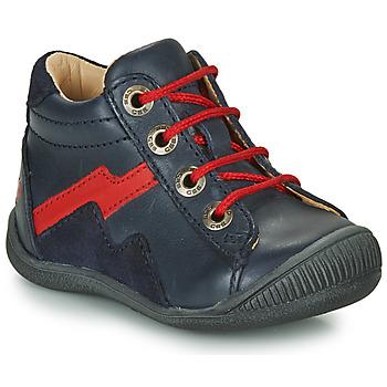 鞋子 男孩 短筒靴 GBB ORAM 海蓝色 / 红色