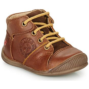 鞋子 男孩 短筒靴 GBB OULOU 棕色 / 棕色