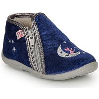 鞋子 女孩 拖鞋 GBB OLILE 蓝色