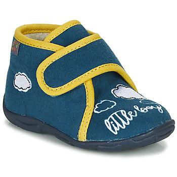 鞋子 男孩 拖鞋 GBB OKANDI 蓝色 / 黄色