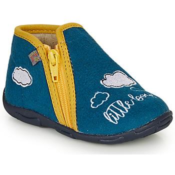 鞋子 男孩 拖鞋 GBB OUBIRO 蓝色 / 黄色