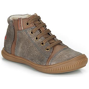 鞋子 女孩 高帮鞋 GBB OUNA 灰褐色