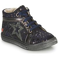 鞋子 女孩 高幫鞋 GBB NAVETTE 藍色