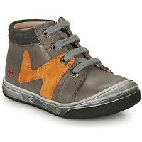 鞋子 男孩 高帮鞋 GBB OLINOU 灰色 / 驼色