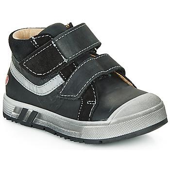 鞋子 男孩 高幫鞋 GBB OMALLO 黑色