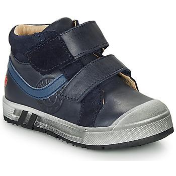 鞋子 男孩 高幫鞋 GBB OMALLO 藍色