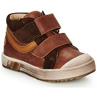 鞋子 男孩 高幫鞋 GBB OMALLO 棕色