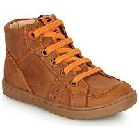 鞋子 男孩 高帮鞋 GBB ANGELITO 棕色 / 橙色