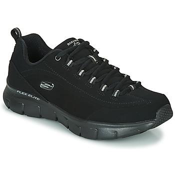 鞋子 女士 球鞋基本款 Skechers 斯凯奇 SYNERGY 3.0 黑色