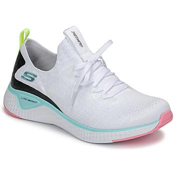 鞋子 女士 训练鞋 Skechers 斯凯奇 FLEX APPEAL 3.0 白色 / 玫瑰色 / 蓝色