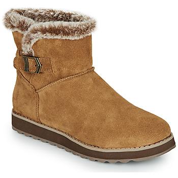 鞋子 女士 短筒靴 Skechers 斯凯奇 KEEPSAKES 2.0 棕色