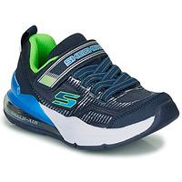 鞋子 男孩 球鞋基本款 Skechers 斯凯奇 SKECHERS BOY 蓝色 / 绿色