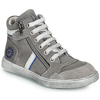 鞋子 男孩 高帮鞋 Ramdam HOUSTON 灰色