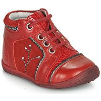 鞋子 女孩 短筒靴 Catimini CALINE 红色