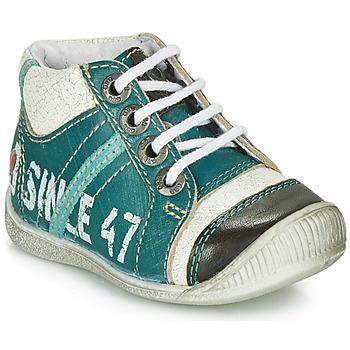 鞋子 男孩 短筒靴 GBB ISIS 蓝色