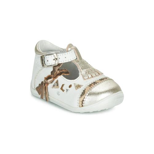 鞋子 女孩 平底鞋 Catimini CANETTE 白色