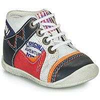 鞋子 男孩 短筒靴 Catimini CACHALOT 白色