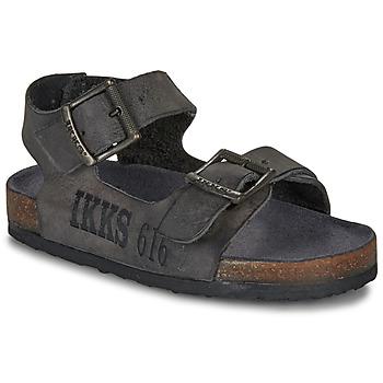 鞋子 男孩 凉鞋 Ikks CURTIS 黑色