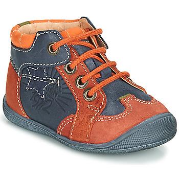 鞋子 男孩 短筒靴 Catimini CARACAL 蓝色