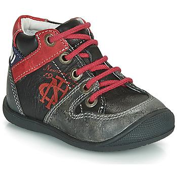 鞋子 男孩 短筒靴 Catimini COMATULE 黑色 / 红色