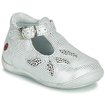 鞋子 女孩 凉鞋 GBB MARIE 白色 / 银灰色