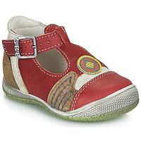 鞋子 男孩 凉鞋 GBB MARIO 红色