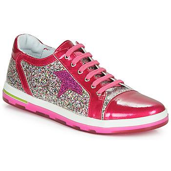 鞋子 女孩 球鞋基本款 Ramdam KASAI 玫瑰色