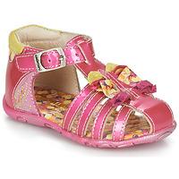 鞋子 女孩 凉鞋 Catimini CYGNE 玫瑰色