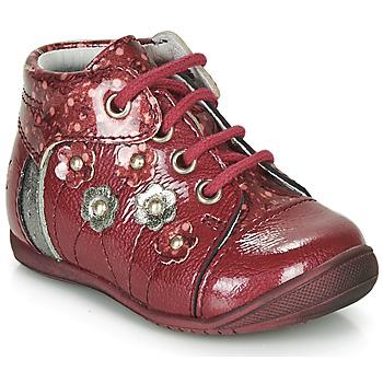 鞋子 女孩 短筒靴 GBB NAYANA 红色