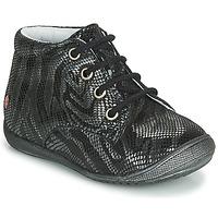 鞋子 女孩 短筒靴 GBB NAOMI 黑色 / 银灰色