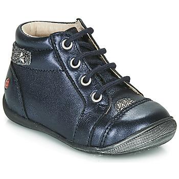 鞋子 女孩 短筒靴 GBB NICOLE 海蓝色 / 银灰色