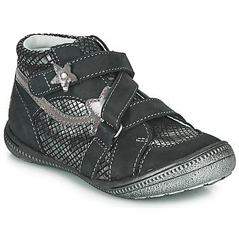 鞋子 女孩 短筒靴 GBB NINA 黑色 / 银灰色