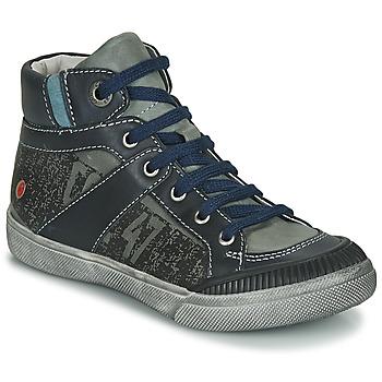 鞋子 男孩 短筒靴 GBB NESTOR 卡其色 / 海蓝色
