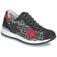 鞋子 女孩 球鞋基本款 Achile LAURA 黑色 / 红色 / 多彩