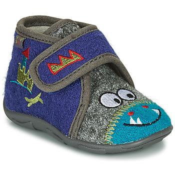 鞋子 男孩 拖鞋 GBB NASTRIANO 蓝色 / 灰色