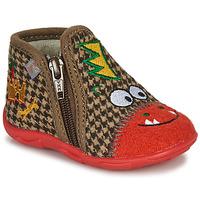 鞋子 男孩 拖鞋 GBB NEREO 红色 / 棕色