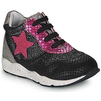 鞋子 女孩 球鞋基本款 Ikks KAREN 黑色 / 玫瑰色